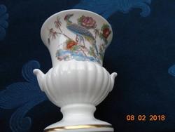 WEDGWOOD-empire finom porcelán (Bone China) Váza-japán mintával-8,5 cm