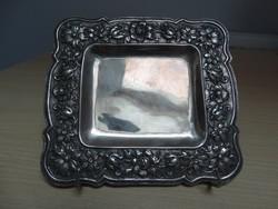 Antik Aradi ezüst tálca kb. 1780 -ból , nagyon ritka  !