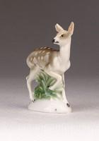 0P014 Rosenthal mini porcelán őzike 5 cm