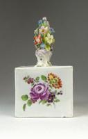 0P024 Antik Altwien porcelán tintatartó 1800-ból