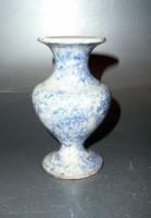 Angol kristálymázs váza