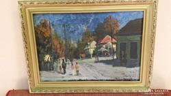 Podolyák Vilmos festmény