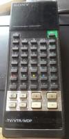 SONY televizióhoz  Trinitron 100 Hz, 72cm  távvezérlő  RM-698 typ. TV/VTR/MDP!