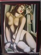Akt ,/ Tamara Lempicka másolat /