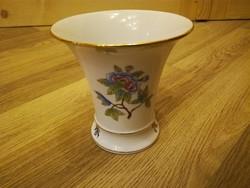 Herendi Viktória mintás porcelán váza