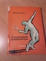 Antikvár sport könyv - Kelemen Imre A teniszjáték módszertana - dedikált példány 1964.