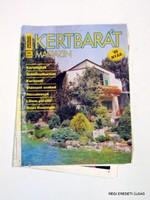 1989 - -  /  KERTBARÁT MAGAZIN  /  RÉGI EREDETI MAGYAR ÚJSÁG Szs.:  3928