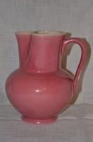 Zsolnay rózsaszín kancsó  ( DBZ 0076 / 2 )