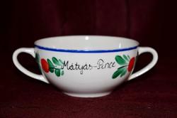 Mátyás - Pince: hollóházi leveses csésze  ( DBZ 0055 )
