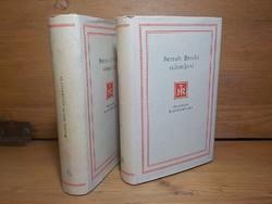 Bertolt Brecht színművei 1-2.  / Helikon Klasszikusok sorozat 1964