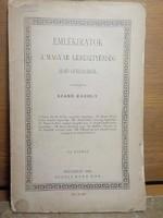 Szabó Károly : Emlékiratok a Magyar kereszténység első századáról 1887