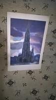 Régi festmény valamilyen templom