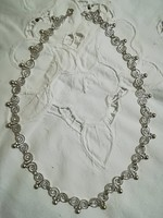 Gyönyörű régi ezüst nyakék