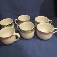 Különböző kávés csészék   A077