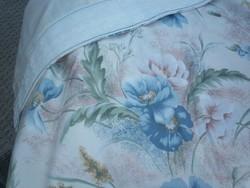 Vintage rózsás függöny, bélelt, behúzóval 256 *140 cm