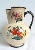 Antik 1880. Zsolnay Virágos Kancsó-Kiöntő