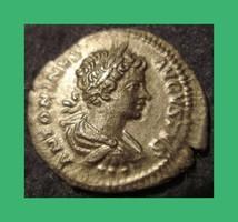 Római Caracalla Jr  198-217  Ag ezüst dénár