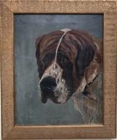 John Emms - Bernát hegyi kutya 1895 ( angol festő)