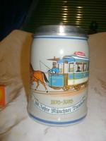 Retro fedeles sörös korsó - 1977