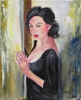 VÁRNI RÁD -B.Tóth Irisz festmény AUKCIÓN csak 4 NAPIG