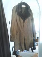 Hasított bőrkabát téli