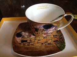 Gustav Klimt Collection 2 személyes teás/capuccinos