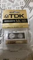 TDK mikrokazetta eladó!