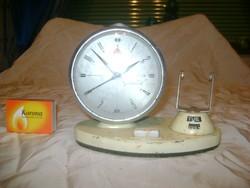 Golden Cach régi naptáros vekker, csörgőóra - hiányos, javítandó