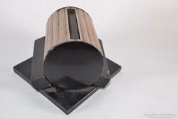 Art Decó ezüst cigi adagoló