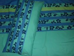Gyönyörű kék mintás ágyneműgarnitúra I.