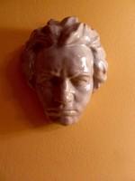 Beethoven mázas kerámia