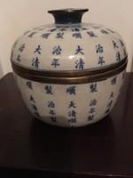 Kínai Shunzhi (1638) porcelán