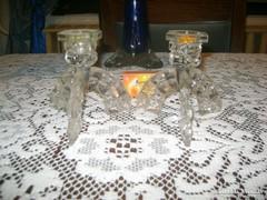 Üveg gyetyatartó párban eladó