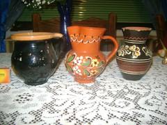 Mázas kerámia - három darab - együtt eladó