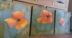 Nagyméretű festmény áron alul!!! 120 X 40 cm
