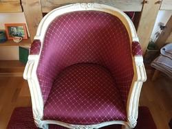 Barok stílusú 2 darab fotel