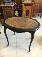 Neobarokk dohányzóasztal,bútor