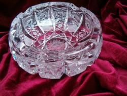 Ólomkristály antik hamutartó