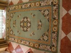 Kínai dombornyírt, gyapju kézi csomózású vastag szőnyeg