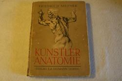 Friedrich Meyner: Künstler anatomie (Művészi anatómia)