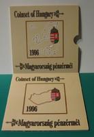 1996-os Dísztokos forgalmi sor BU - 50 éves a forint!