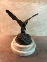 Antik bronz Turul madár