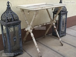 Provence bútor, antikolt szalon asztal 03.