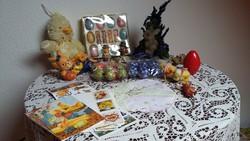 Apróságok, díszek húsvétra (nyuszik, tojások, képeslapok, stb.)