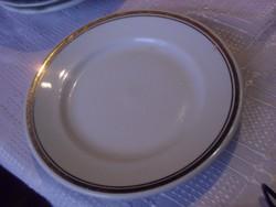 Aranycsíkos süteményes tányér