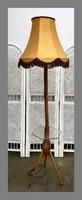 Retro állólámpa szép ernyővel