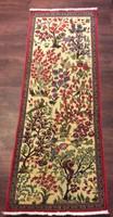 Iráni kézicsomózású különleges futó szőnyeg