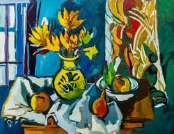 Dallos Lívia: Csendélet gyümölcsökkel