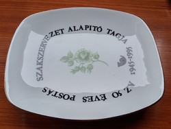 Hollóházi porcelán tálka vagy hamutartó