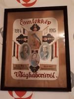 RITKA !Száraz  PECSÉTES 1914-1915  Emlék Világháborúról